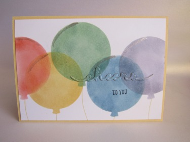 Balloon Framelits, Wink of Stella, Greetings Thinlits #stampinup Occasions 2016 @cardsbykate