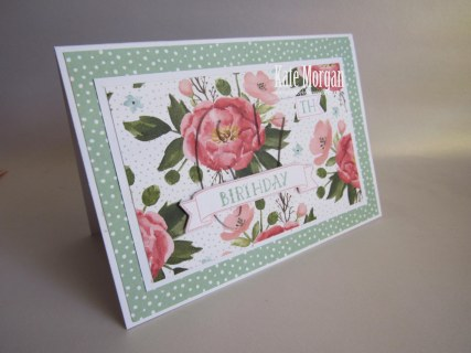 Large Numbers Framelits Number of Years Birthday Bouquet #stampinup