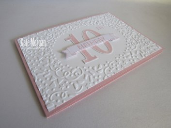 Large Numbers Framelits Number of Years Birthday #stampinup