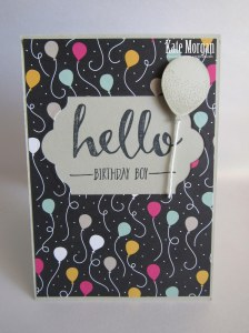 Its my party Balloon Bouquet #stampinup