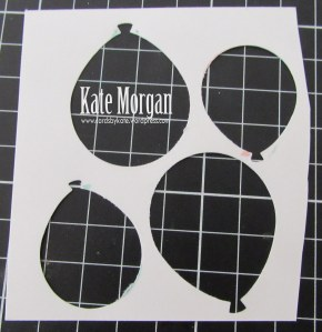 How to line up the Balloon Bouquet Punch #stampinup