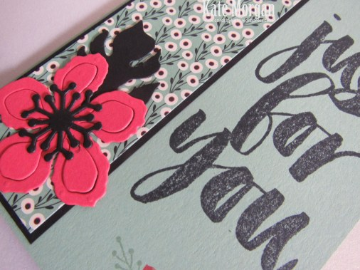 Botanical Builder Framelits, Botanicals For You, Love Blossoms DSP, Feminine Handmade Card, DIY, #stampinup