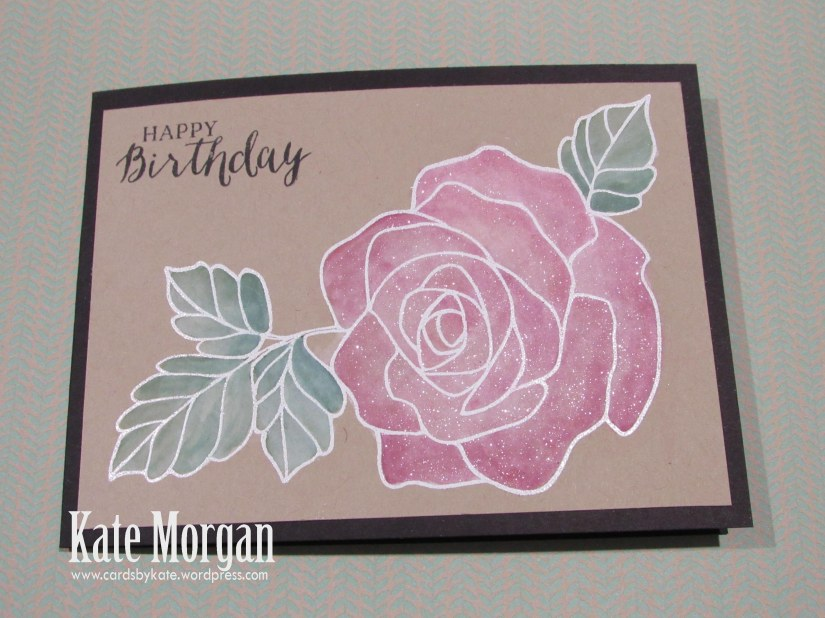 Rose Wonder, Rose Garden Thinlits, Wink of Stella, #stampinup, 2016 Annual catalogue