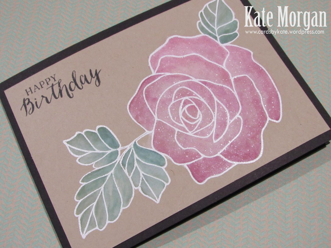 Rose Wonder, Rose Garden Thinlits, Wink of Stella, #stampinup, 2016 Annual catalogue