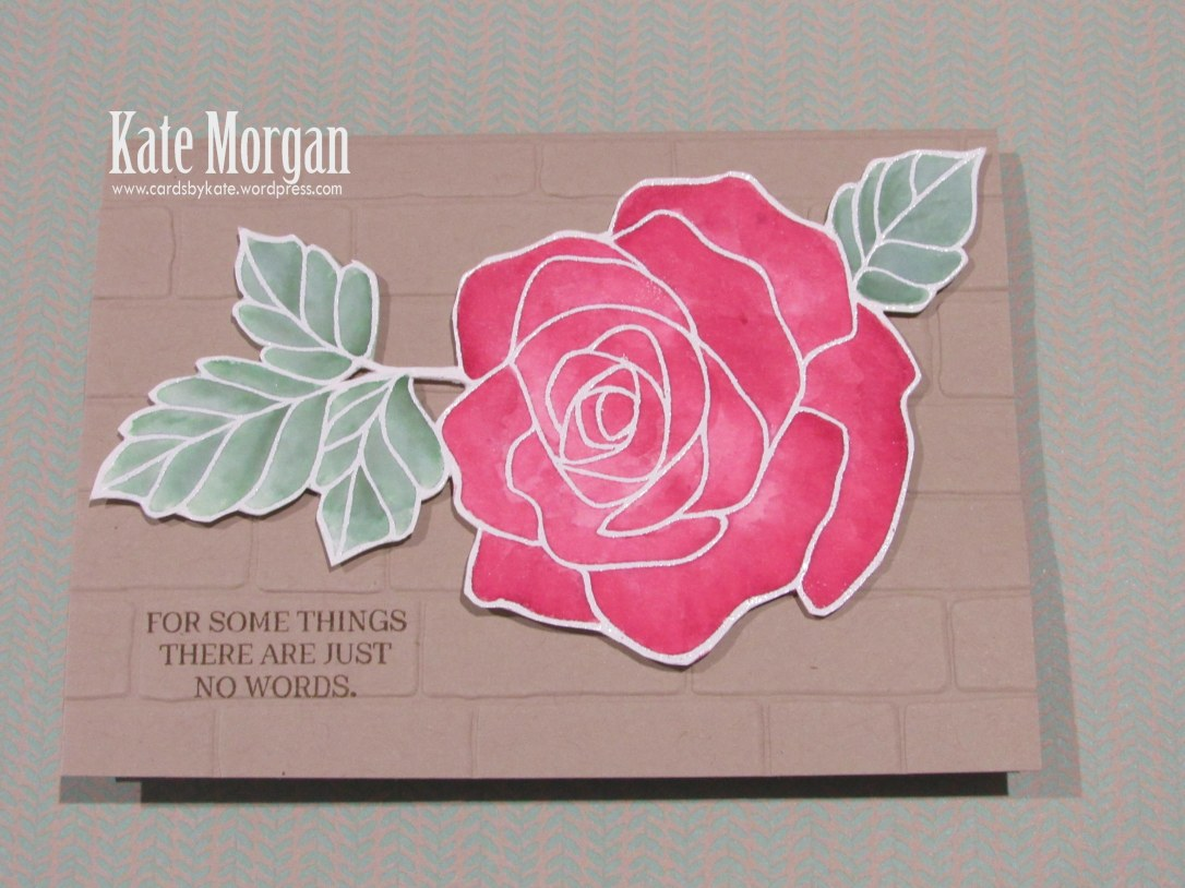Rose Wonder, Rose Garden Thinlits, #stampinup, 2016-2017 Annual catalogue