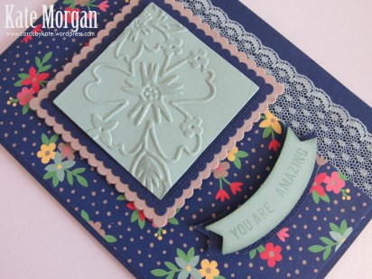 Affectionately Yours DSP, Thoughtful Banners, Layering Squares Framelits, Duet Banner Punch, Floral Affection TIEF, DIY, #stampinup