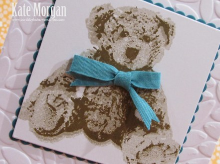 Baby Bear, DIY, #stampinup, Handmade card, Stampin Up 2016