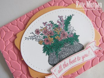 Basket For You, Petal Burst TIEF, #stampinup, 2016, #stampinupaustralia, Feminine Handmade Cards, DIY