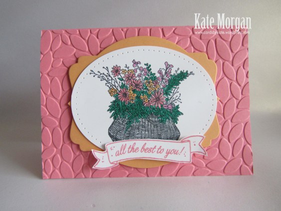 Basket For You, Petal Burst TIEF, #stampinup, DIY,  2016, #stampinupaustralia, Feminine Handmade Card