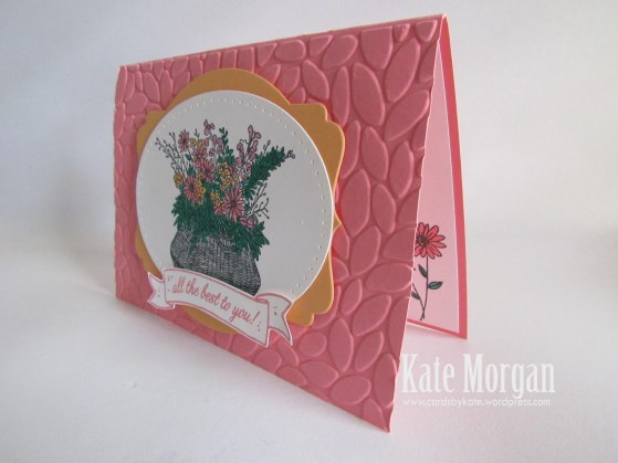 Basket For You, Petal Burst TIEF, #stampinup, DIY,  2016, #stampinupaustralia, Feminine Handmade Cards