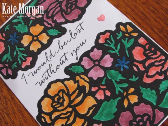 Detailed Floral Thinlits, 2016-2018 In Colour Markers, DIY, Floral Phrases, #stampinup, Handmade card, Stampin Up 2016