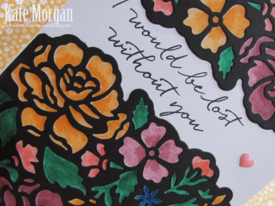 Detailed Floral Thinlits, Floral Phrases, 2016-2018 In Colour Markers, DIY, #stampinup, Handmade card, Stampin Up 2016, Big Shot