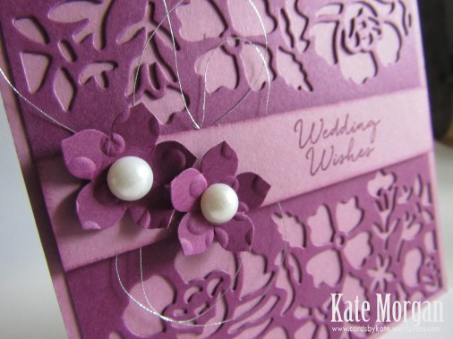 Floral Phrases, Detailed Floral Thinlits, #stampinup, Wedding Wishes, 2016, #stampinupaustralia, Feminine Handmade Card, Petite Petals, DIY