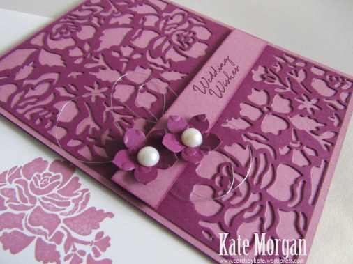 Floral Phrases, Detailed Floral Thinlits, #stampinup, Wedding Wishes, Petite Petals, 2016, #stampinupaustralia, Feminine Handmade Card, DIY