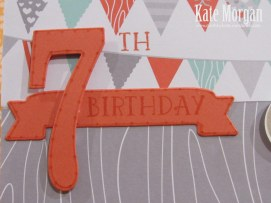 Foxy Friends, Cat, 7th Birthday, DIY, #stampinup, Handmade