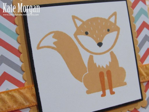 Foxy Friends, Fox, DIY, #stampinup, Handmade card, Stampin Up 2016, Fox Builder Punch