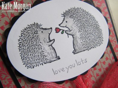Love You Lots, Affectionately Yours DSP,  #stampinup, Hedgehogs, #stampinupaustralia, Feminine Handmade Card, DIY, Watermelon Wonder, Hostess Set