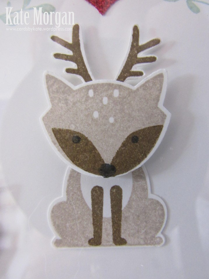 Shadow Box, Foxy Friends, Deer, DIY, #stampinup, Handmade