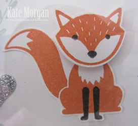Shadow Box, Foxy Friends, Fox, DIY, #stampinup, Handmade