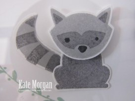 Shadow Box, Foxy Friends, Racoon, DIY, #stampinup, Handmade