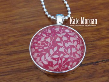 Love Blossoms Designer Costume Jewellery Necklace #stampinup @cardsbykate DIY