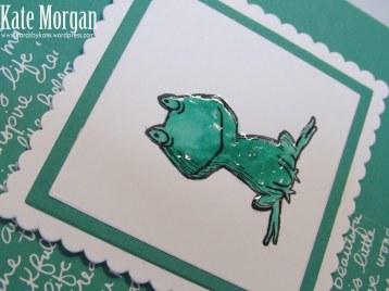 Love You Lots, Frog, Feminine Birthday Card, #stampinup, DIY, @cardsbykate, #stampinupaustralia
