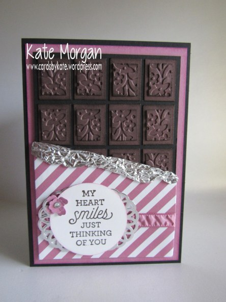 World Chocolate Day, Floral Affection TIEF, Suite Sayings, #stampinup @cardsbykate @cardsbykate morgan