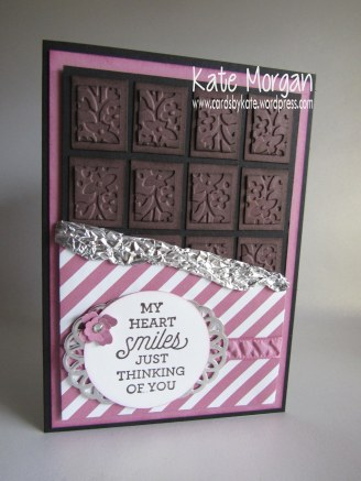 World Chocolate Day, Floral Affection TIEF, Suite Sayings, #stampinup DIY @cardsbykate @cardsbykate morgan