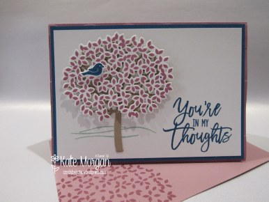 Thoughtful Branches, Beautiful Branches, Sympathy card #stampinup DIY @cardsbykate