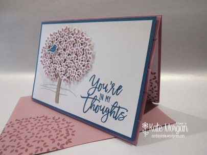 Thoughtful Branches, Beautiful Branches, Sympathy card #stampinup DIY, @cardsbykate