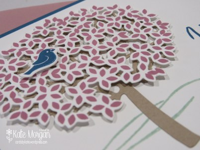 Thoughtful Branches, Beautiful Branches, Sympathy card #stampinup DIY @cardsbykatemorgan