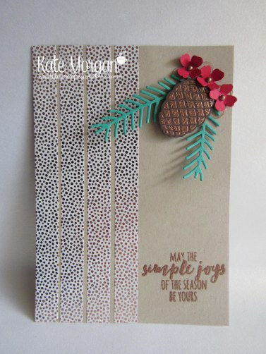 Cards by Kate, Christmas Pines #stampinup Holiday Catalogue 2016 DIY @cardsbykate
