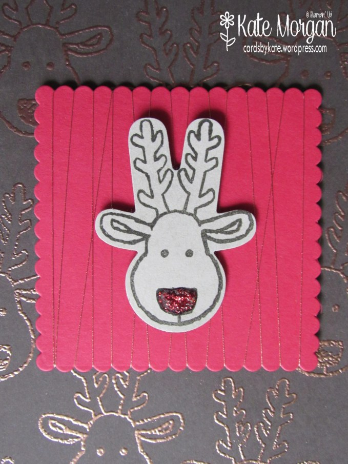 Cards by Kate, Cookie Cutter Reindeer #stampinup Christmas Holiday Catalogue 2016 DIY @cardsbykatemorgan