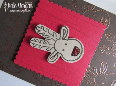 Cards by Kate, Cookie Cutter Reindeer #stampinup Holiday Catalogue 2016 DIY, @cardsbykatemorgan