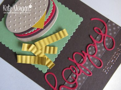 Cards by Kate, Happy Father's Day Burger & Fries, Punch Art DIY #stampinup @cardsbykatemorgan