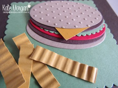 Cards by Kate, Happy Father's Day, Burger & Fries Punch Art, DIY #stampinup @cardsbykatemorgan