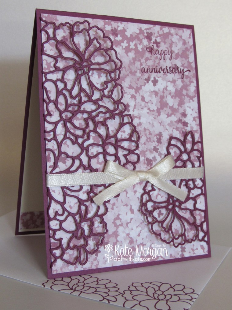 Floral anniversary kate morgan independent stampin up