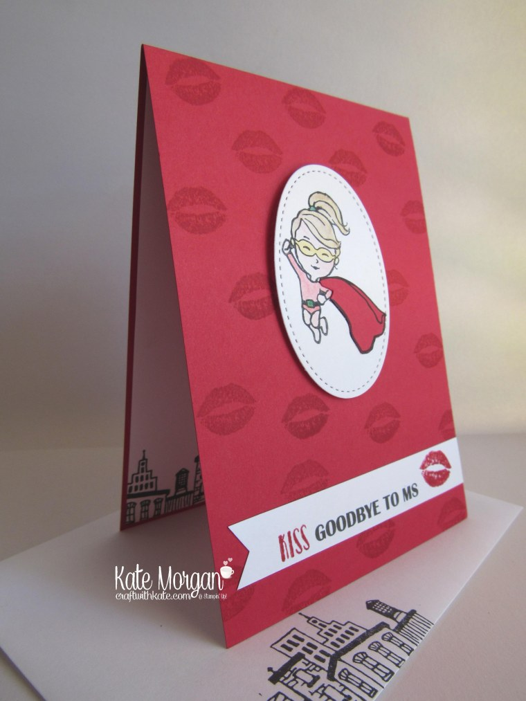 kiss-goodbye-to-ms-card-using-stampin-up-everyday-hero-sealed-with-love-watercolour-pencils-by-kate-morgan-independent-demonstrator-melbourne-occasions2017-kissgoodbyetoms-front-side