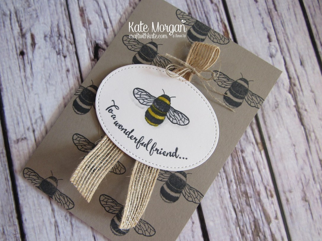 To a wonderful friend using Stampin Ups Dragonfly Dreams by Kate Morgan, Stampin Up demonstrator Melbourne #Occasions2017 flat