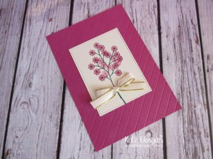 Beautiful Bouquet stamp set, Gold Metallic Edged Ribbon by Kate Morgan, Independent Stampin Up Demonstrator Australia