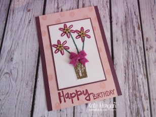 Paint Play stamp set, Bitty Bow, Touches of Nature Elements by Kate Morgan, Independent Stampin Up Demonstrator Australia