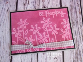 Paint Play Stamp set, Smoky Slate Gingham Ribbon, A4 glossy white cardstock by Kate Morgan, Independent Stampin Up Demonstrator Australia
