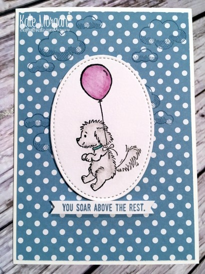 Bella & Friends by Kate Morgan, Independent Stampin Up demonstrator, Australia balloon