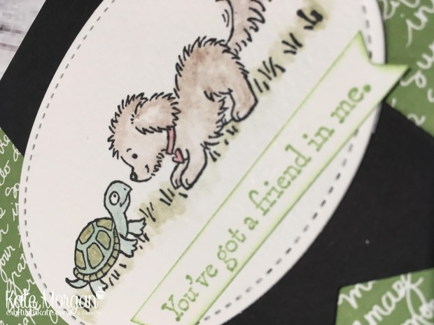 Bella & Friends by Kate Morgan, Independent Stampin Up demonstrator, Australia close up
