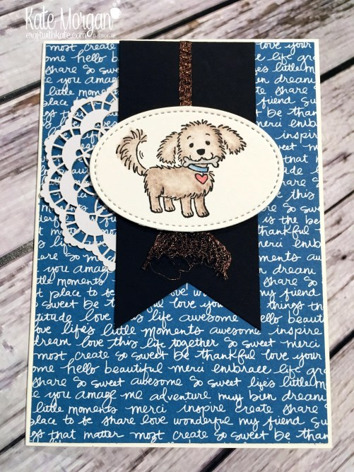 Bella & Friends by Kate Morgan, Independent Stampin Up demonstrator, Australia