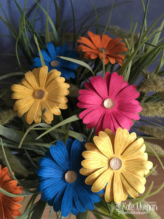 Daisy Delight by Kate Morgan, Independent Stampin Up Demonstrator, Rowville 3D posy