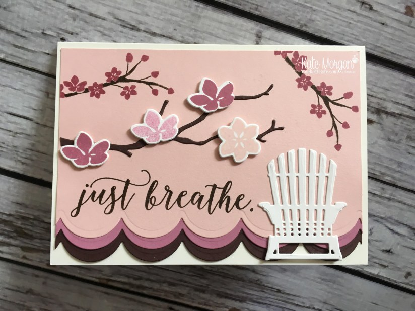 Spring - Colourful Season & Seasonal Layers Thinlits by Kate Morgan, Independent Stampin Up demonstrator, Australia