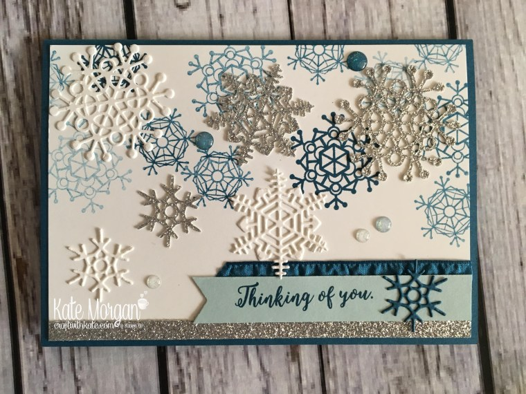 Winter - Colourful Season & Seasonal Layers Thinlits by Kate Morgan, Independent Stampin Up demonstrator, Australia