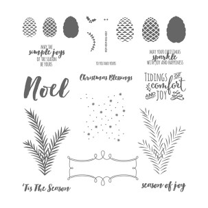 Christmas Pines stamp set by Stampin' Up!