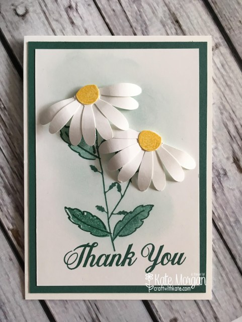 Daisy Delight Thank You card by Kate Morgan, Independent Stampin' Up! Demostrator, Australia 3D.JPG